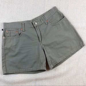 "Ralph Lauren 5"" Five Pocket Shorts Olive Green"